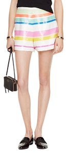 Kate Spade Sequin Cape Cod Mini/Short Shorts Multi