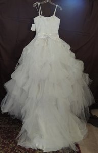 9352w Ballgown Cathedral Train Free Veil Wedding Dress