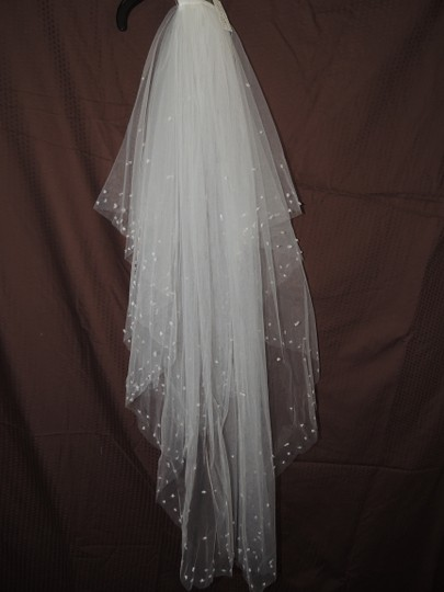 White Organza Ballgown Traditional Wedding Dress Size 4 (S) Image 4