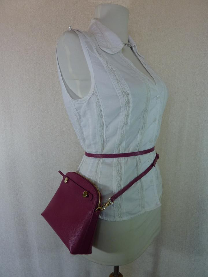 Bag Piper Furla Mini Cross Pink Body Raspberry Leather xAg1pg80W