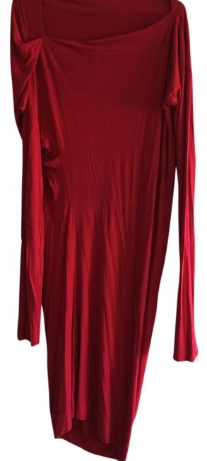 Preload https://item4.tradesy.com/images/wiven-westwood-dress-red-2140233-0-0.jpg?width=400&height=650