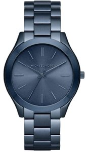 Michael Kors Michael Kors Women's Blue Silm Runway Watch MK3419