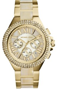 Michael Kors Michael Kors Women's Camille Gold-Tone Chronograph Watch MK5902
