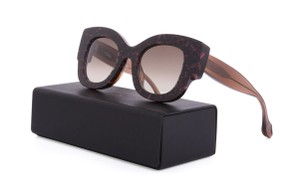Fendi Thierry Lasry X Fendi Sylvy Oversized Pink Brown Haute Glam Sunglasses