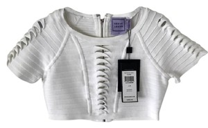 Hervé Leger Top Alabaster (white)