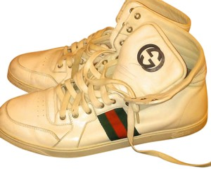 Gucci Sneakers High Tops Men's White Athletic