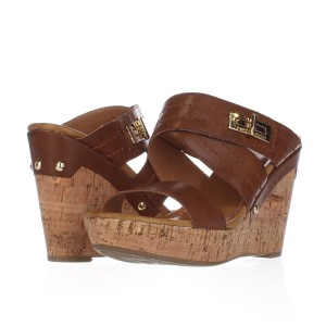 Tommy Hilfiger Brown Platforms
