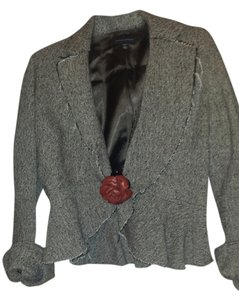 Banana Republic Brown Tweed Blazer