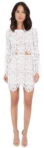 For Love & Lemons Lace Top White