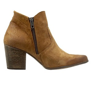 FreeBird By Steven Steve Madden Leather Suede Ankle New Distressed Brown Boots