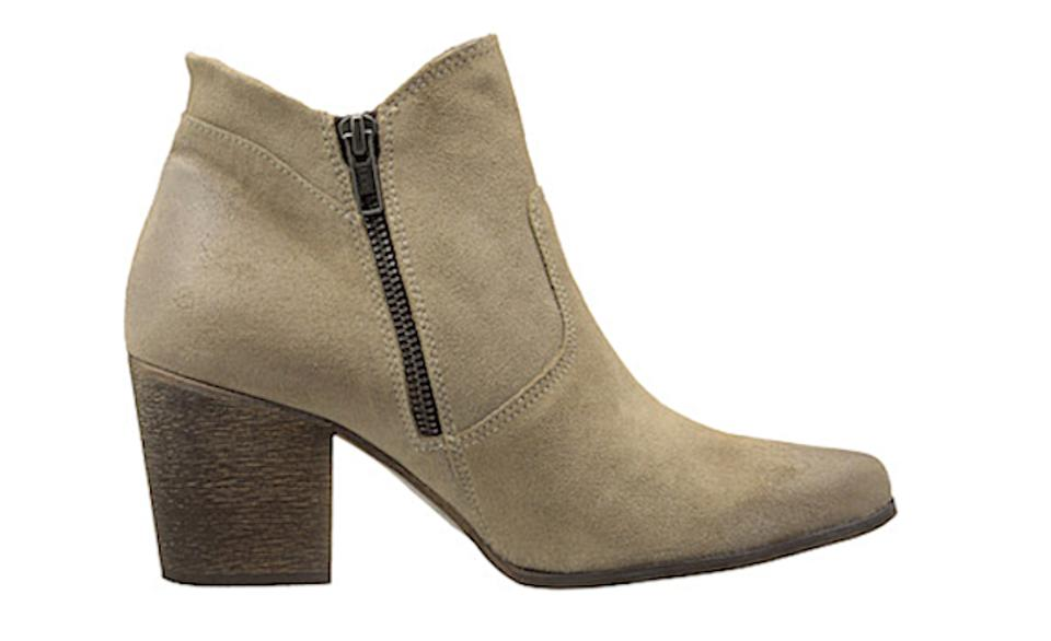 FreeBird Gray Ankle Leather Suede Ankle Gray Steve Madden Boots/Booties 28572a