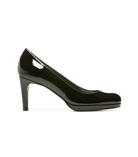 Stuart Weitzman Patent Leather Classic Black Pumps