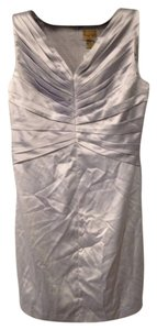 Midnight Velvet short dress Silver on Tradesy