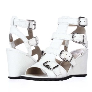 Via Spiga White Platforms