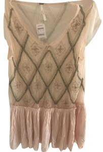 Free People Top Blush pink