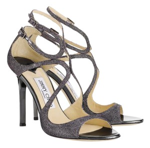 Jimmy Choo Antracite Sandals