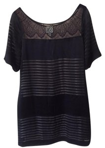 Weston Wear short dress Black Shift Lace on Tradesy