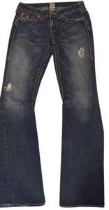 True Religion, 28/34 Relaxed Fit Jeans-Dark Rinse