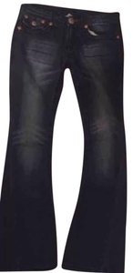 True Religion 26/34 Relaxed Fit Jeans-Dark Rinse