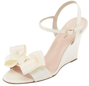 Kate Spade Bridal Wedding Ivory Wedges