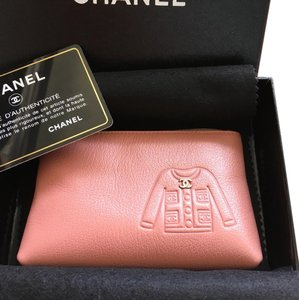 Chanel Chanel pink leather Cles