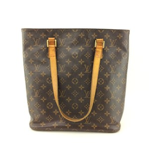 Louis Vuitton Monogram Tote Leather Shoulder Bag