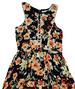 Lucca Couture short dress Multi Floral Sleeveless on Tradesy