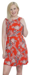 Joe Fresh short dress Orange on Tradesy