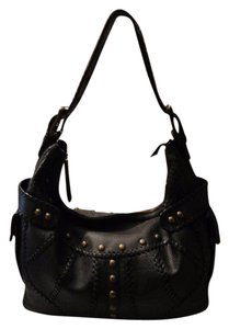 Isabella Fiore Studded Hobo Bag