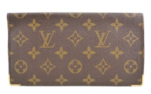 Louis Vuitton Vintage Monogram Canvas Porte Long Wallet
