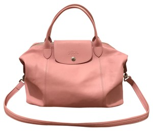 79091b84646 Pink Leather Longchamp Bags - 70% - 90% off at Tradesy