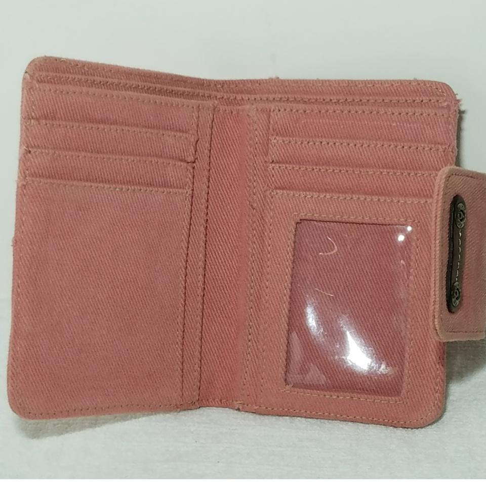 Fossil Pink Women Credit Card Id Coin Purse Key Holder Wallet - Tradesy