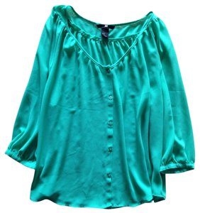 H&M Top Green (emerald)