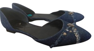 7 For All Mankind Blue Flats