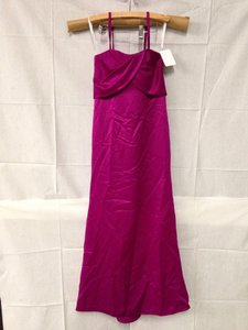 Dessy Persian Plum Polyester Bridesmaid/Mob Dress Size 8 (M)