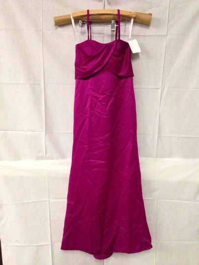 Dessy Persian Plum Polyester Bridesmaid/Mob Dress Size 8 (M) Image 0