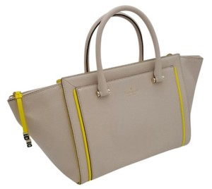 Kate Spade Satchel in Pumice / yellow