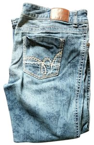 Maurices Boyfriend Cut Jeans-Distressed