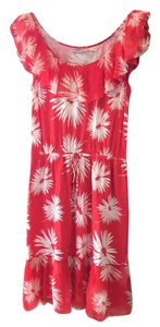 Juicy Couture short dress cherry red with white detail on Tradesy