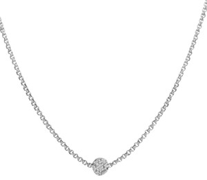 David Yurman David Yurman Diamond Petite Pave Necklace