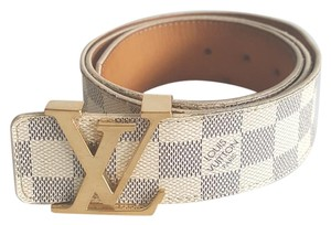 Louis Vuitton Louis Vuitton Azur LV Initial Men's Belt