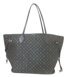 Louis Vuitton Neverfull Idylle Mini Lin Mm Tote in Fusain