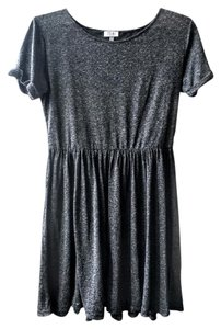 Tobi short dress Gray Short Sheer on Tradesy