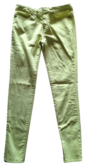 Mossimo Supply Co. Skinny Pants Chartrusse