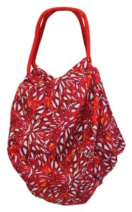 pualani Hawaii Limited Beach Red/White Beach Bag