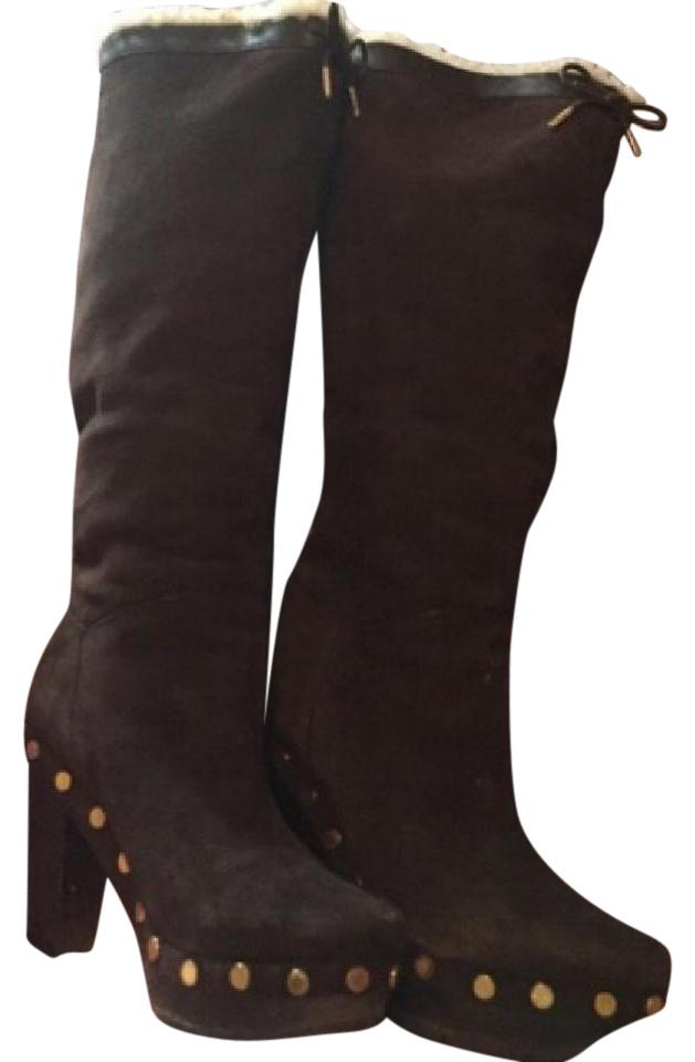Suede Booties Boots Marc Jacobs Brown F0CAAq