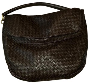 Bottega Veneta Woven Intreciato Leather Hand Stitched Marc Jacobs Hobo Bag