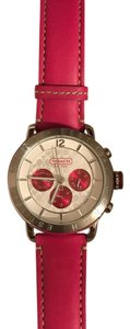 Coach legacy chronograph watch