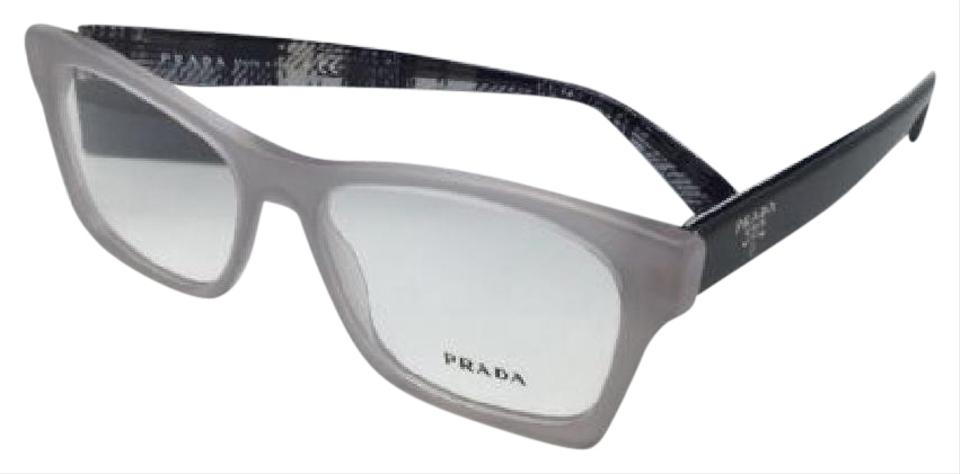 Prada New Vpr 22s Ufh-1o1 54-16 140 Grey & Black Frame Sunglasses ...