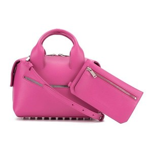 Alexander Wang Leather Genuine Leather Rouge Satchel in pink